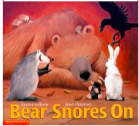 Link to The Bear Snores On Book