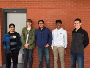 Members of the JHS Science Team at the regional competition