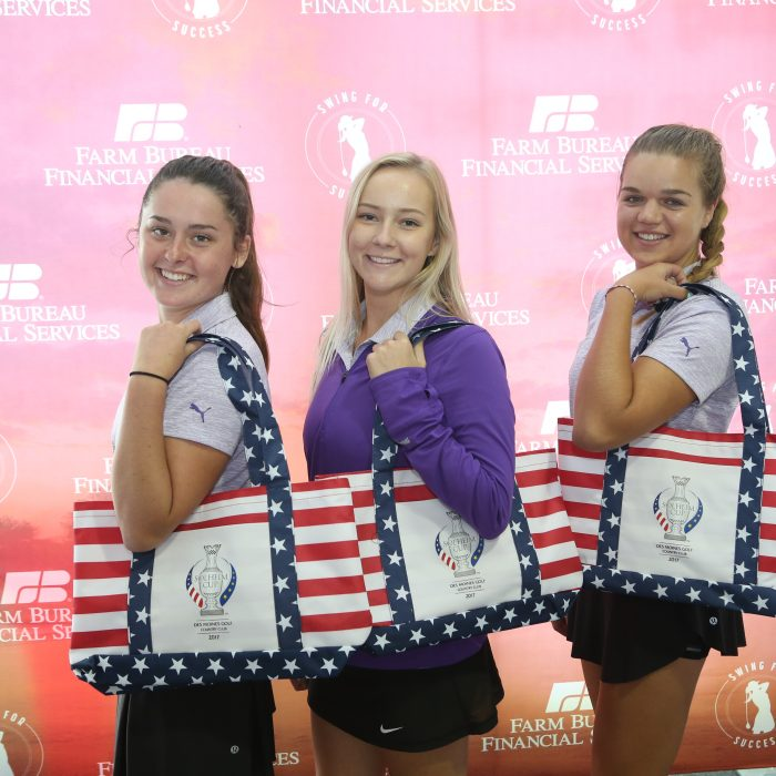 """JHS Golfers """"Swing For Success"""" During Solheim Cup"""
