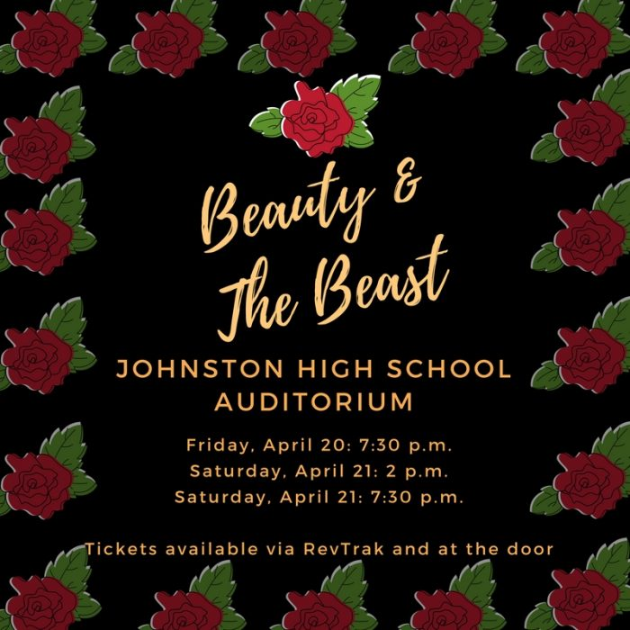 "Show Times for ""Beauty & The Beast"""