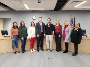 Photo of the 2019-20 Board of Education