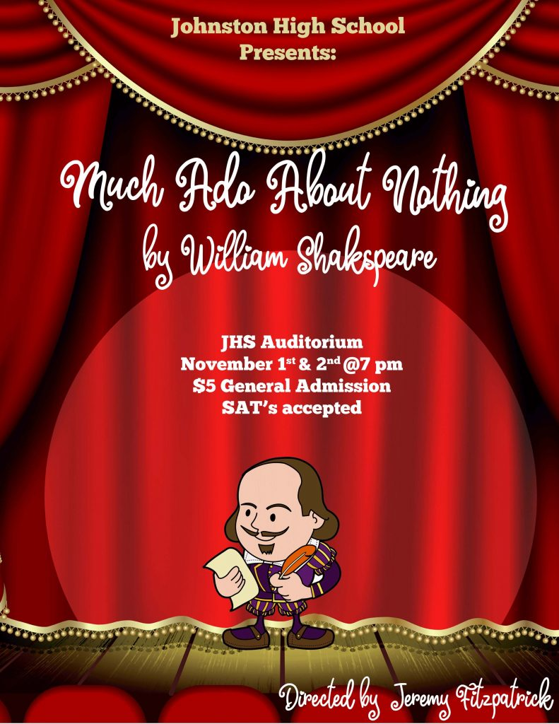 Much Ado About Nothing Poster 1