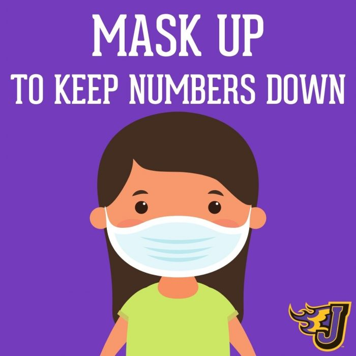 Mask Up to Keep Numbers Down