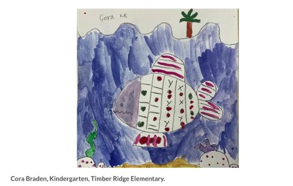JCSD Students Showcase Art Online