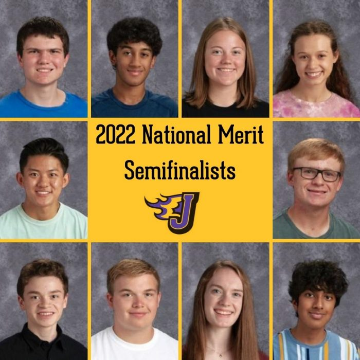 Ten JHS Students Named NMSC Semifinalists